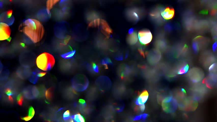 Silver and golden background of defocused abstract lights bokeh - Abstract Holiday Silver Background Crystals Closeup