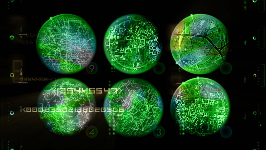 Radar displays and random numbers