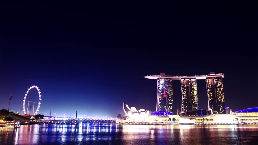 laser show in singapore time lapse stock footage video 2266628 shutterstock. Black Bedroom Furniture Sets. Home Design Ideas
