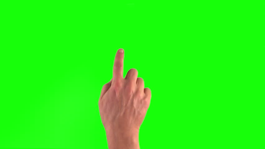 4k: 18 touchscreen gestures in 3840×2160. Set of hand gestures.Showing the uses of computer touchscreen tablet trackpad on green screen. modern technology | Shutterstock HD Video #8751001