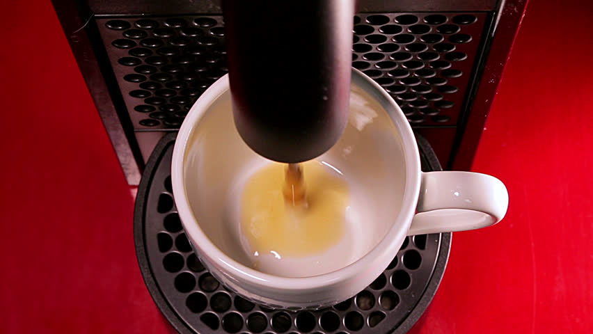 Making Coffee - HD stock footage clip