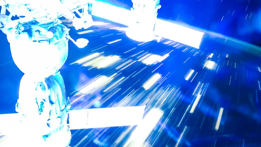International Space Station ISS  Aurora Australis Across Pacific Ocean, Time Lapse 4K. Created from Public Domain images, courtesy of NASA Johnson Space Center : http://eol.jsc.nasa.gov   Shutterstock HD Video #8820049