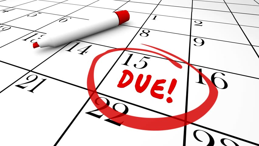, federal taxes due, state taxes due, taxes due date, taxes due ...