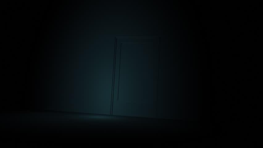 A door opening to shining light   Entry into the door | Shutterstock HD Video #883066
