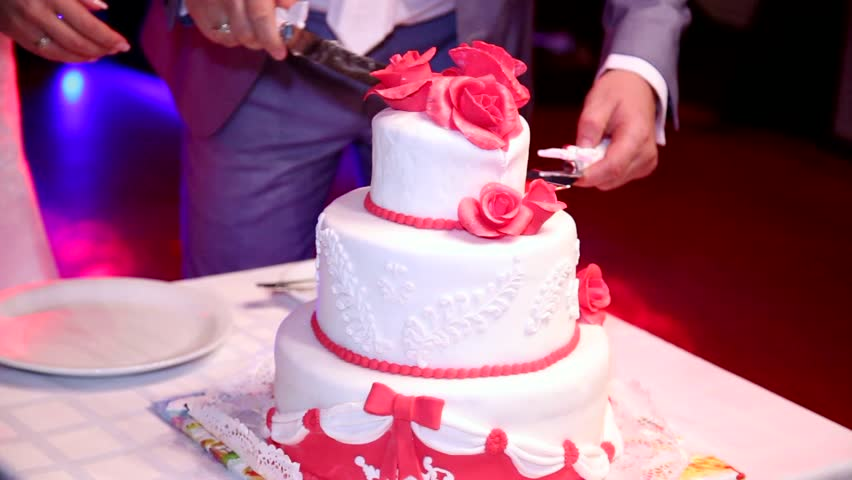 Wedding Cake Images In Hd : Red Cherry Topping On Chocolate Cake Stock Footage Video ...
