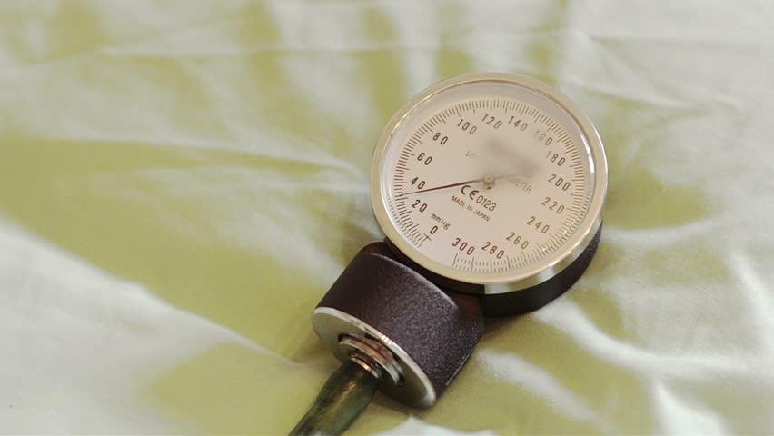 Blood Pressure, close-up