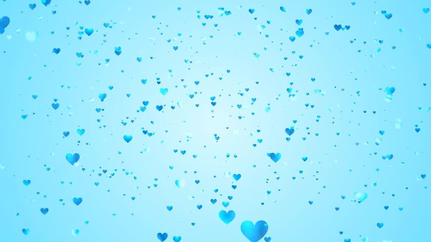 light blue heart background - photo #16