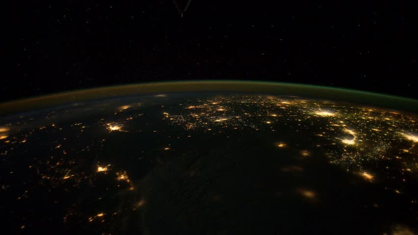 planet earth from space at night - photo #43