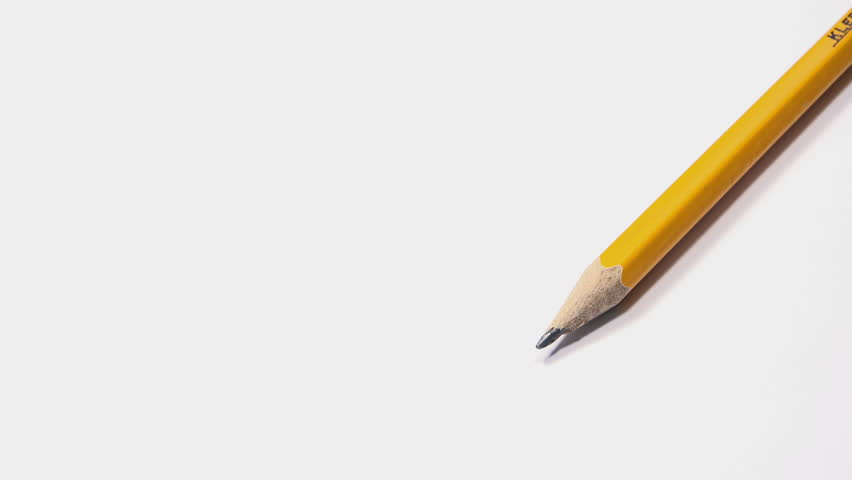Woman Writing a Letter with a Pencil. 4K Ultra HD 3840x2160 Video Clip