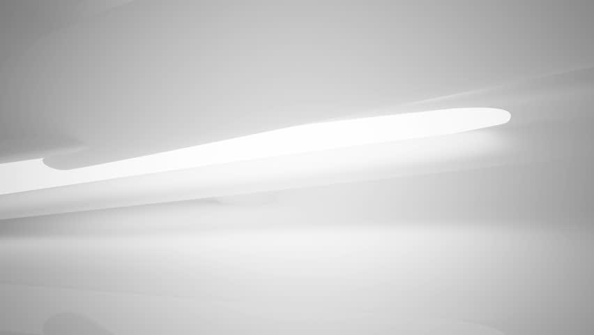 smooth white interior