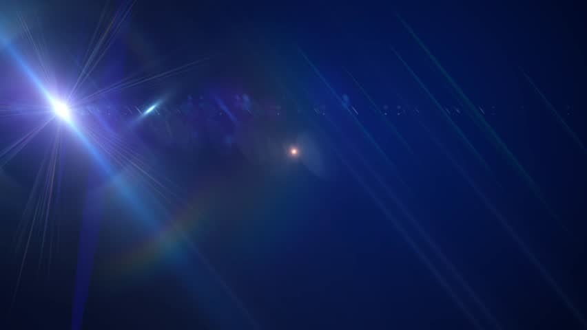 Fantasy glowing lens flares abstract background | Shutterstock HD Video #9008428
