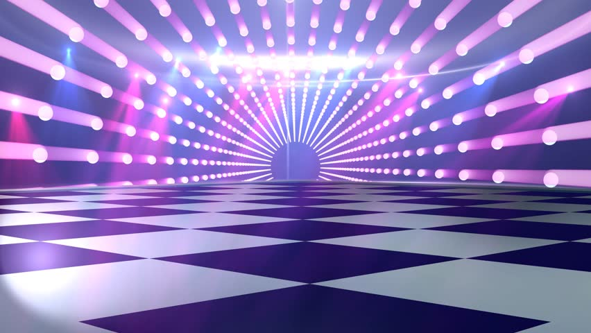 Virtual studio disco dance floor for use with music for 123 get on the dance floor song download