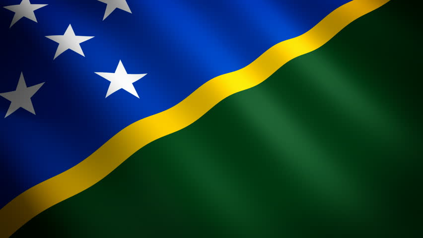Solomon Islands Flag, Flag of Solomon Islands