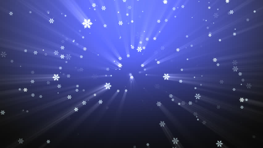 Falling snowflakes Christmas background HD 1080 - HD stock video clip