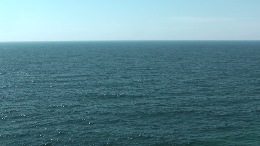 Sea background. Lake Superior, Pukaskwa National Park of Canada. Ontario, Canada - HD stock footage clip