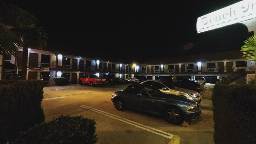 Long Beach Ca Usa March 11 2015 Generic Motel Motor