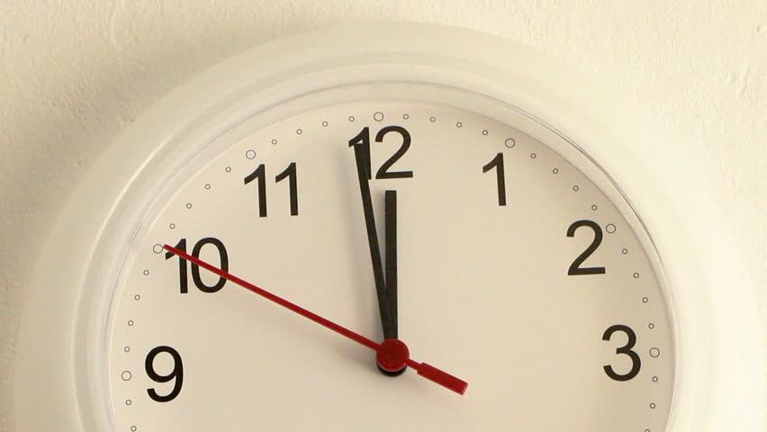 WALL CLOCK (30sec.version) Animated Wall Clock.HD 1080