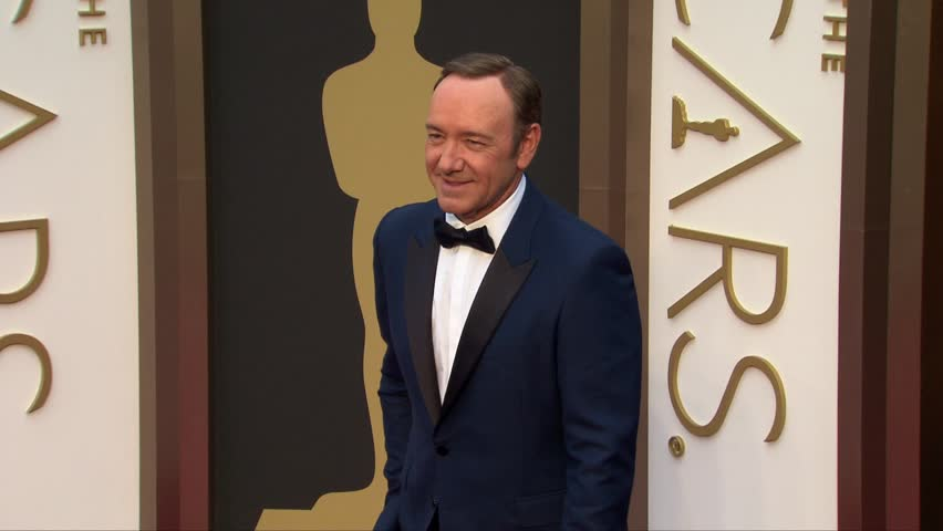 Hollywood, CA - March 02,2014: Kevin Spacey at Academy Awards 2014, Dolby Theatre