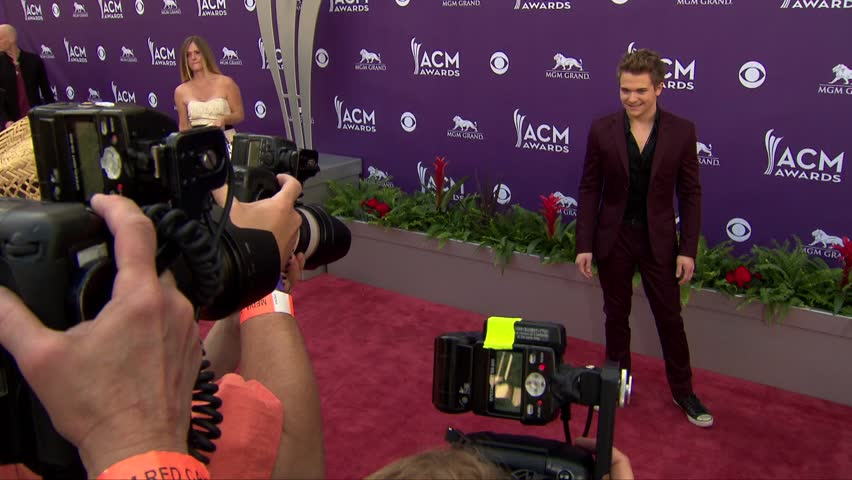Las Vegas, NV - April 07,2013: Hunter Hayes at Academy of Country Music Awards 2013, MGM Grand Garden Arena